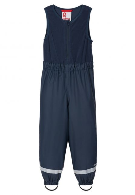 Reima---Rain-pants-with-attached-vest-for-babies---Loiske---Navy