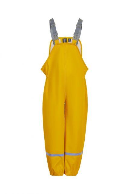 Color-Kids---Lätzchenregenhose-mit-Hosenträgern-für-Kinder---Gelb
