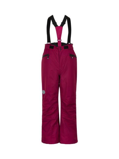 Color-Kids---Skihose-mit-Taschen-für-Kinder---Uni---Rübenrot