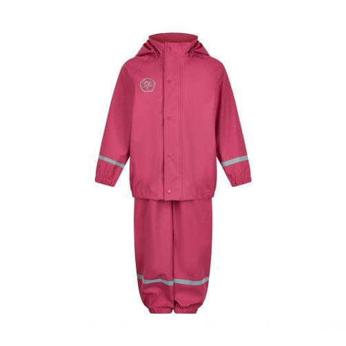 Color-Kids---Regenanzug-Set-mit-Hosenträgern-für-Kinder---Hellrosa
