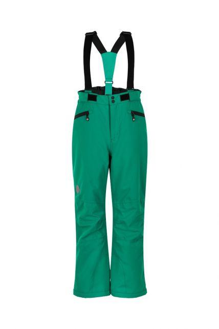 Color-Kids---Skihosen-mit-Taschen-für-Kinder---Uni---Grün