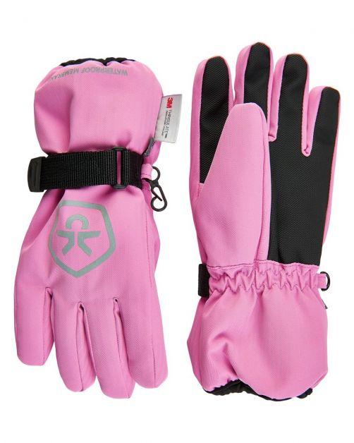 Color-Kids---Wasserdichte-Handschuhe-für-Kinder---Fuchsia-Pink