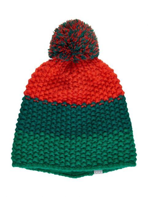 Color-Kids---Mütze-für-Kinder---Streifen---Grün