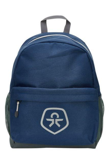Color-Kids---Rucksack-wasserabweisend---Oxford---Blau/Schwarz