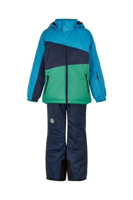 Color-Kids---Skianzug-für-Jungen---Colorblock---Hellblau