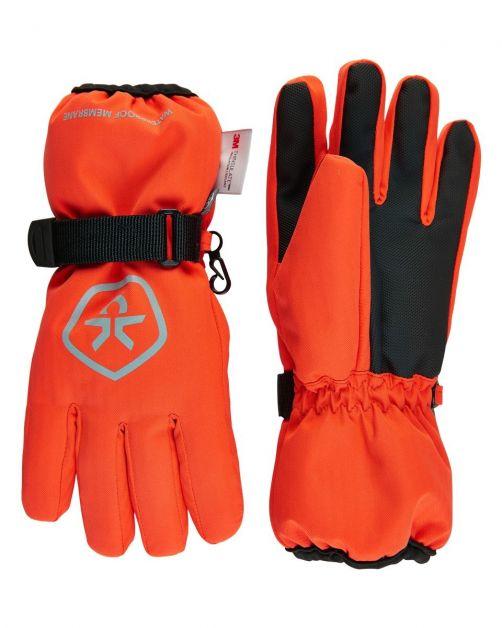 Color-Kids---Wasserdichte-Handschuhe-für-Kinder---Rot