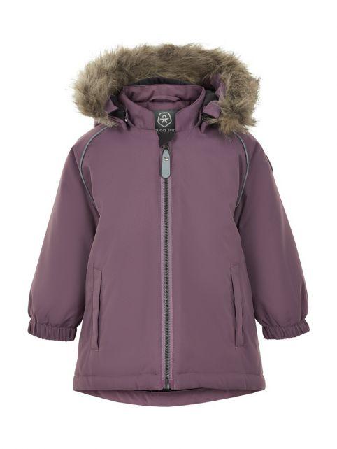 Color-Kids---Parka-Jacke-für-Baby-Mädchen---Uni---Arctic-Dusk