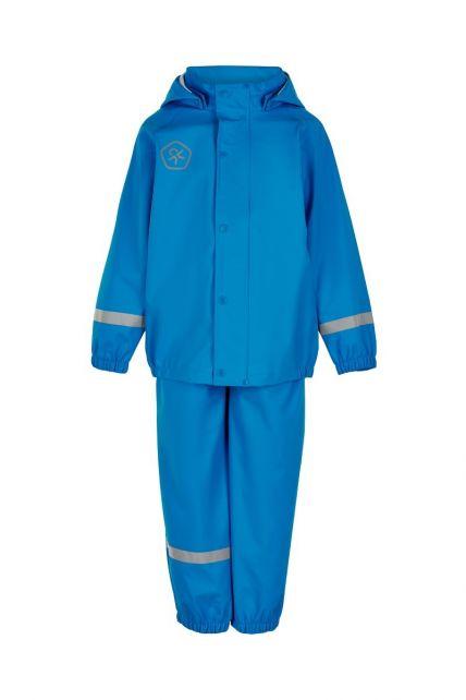 Color-Kids---Regenanzug-aus-recyceltem-Material-für-Kinder---Uni---Hellblau