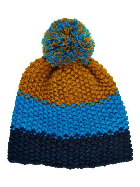 Color-Kids---Mütze-für-Kinder---Streifen---Hellblau