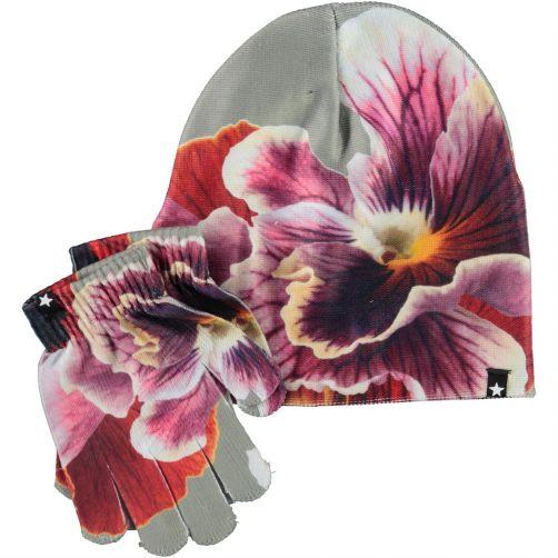 MOLO---Mütze-für-Mädchen---Kaya---Floral-Zoom