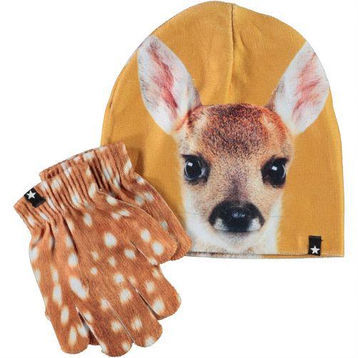 MOLO---Mütze-für-Mädchen---Kaya---Hirsch