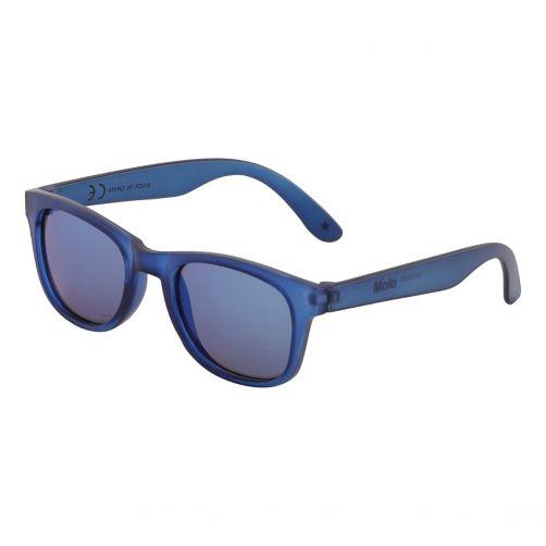 Molo---UV-Sonnenbrille-für-Kinder---Star---Blau-Cave---Blau