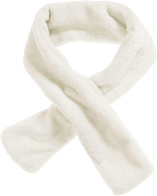 Playshoes---Fleece-Schal-mit-Steck-Schlaufe---Naturweiß