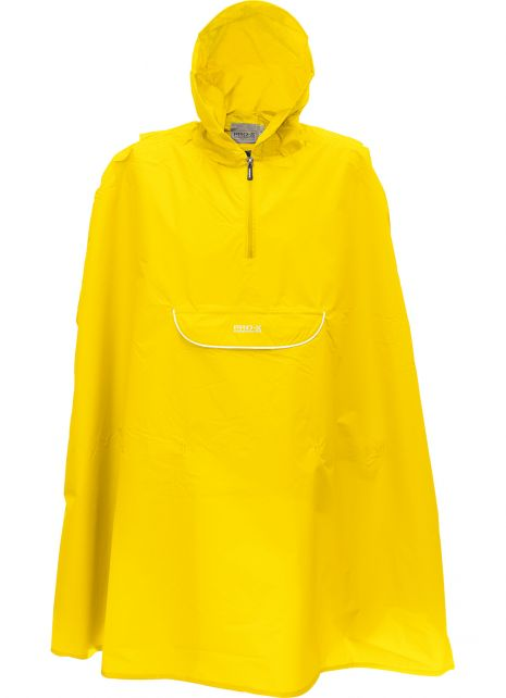 Pro-X-Elements---Packbarer-Regenponcho-für-Kinder---Pasino---Gelb