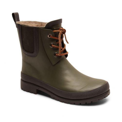 Bisgaard---Regenstiefel-für-Kinder---Rain-Wool---Grün