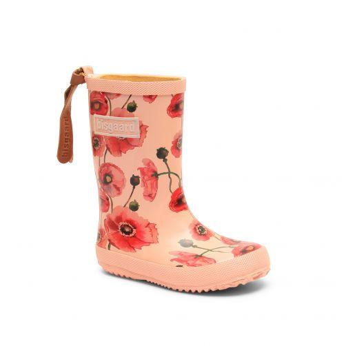 Bisgaard---Regenstiefel-für-Kinder---Fashion---Nude-Flowers