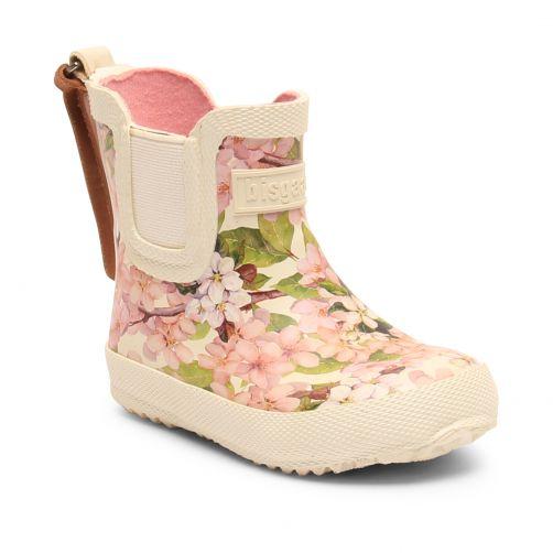 Bisgaard---Regenstiefel-für-Babys---Baby---Creme-Blumen