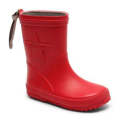 Bisgaard---Regenstiefel-für-Kinder---Star---Rot