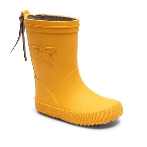 Bisgaard---Regenstiefel-für-Kinder---Star---Gelb