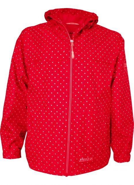 Pro-X-Elements---Packbare-Regenjacke-für-Mädchen---Pia---Rot