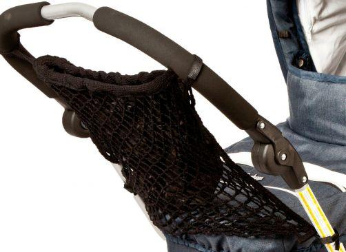 Altabebe---Netz-Einkaufstasche-mit-Futter-für-Kinderwagen---Schwarz
