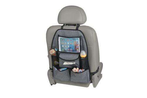 Altabebe---Deluxe-Rücksitz-Organizer-für-iPad/Tablet---Grau