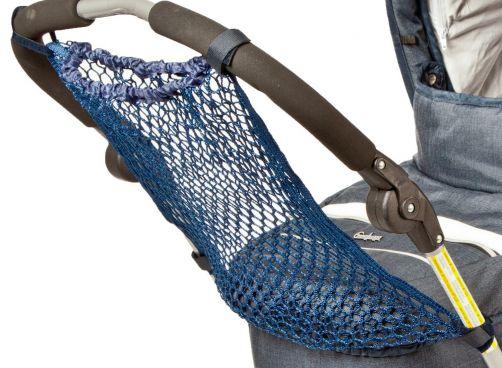 Altabebe---Netz-Einkaufstasche-für-Kinderwagen---Marineblau