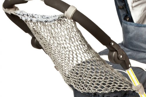 Altabebe---Netz-Einkaufstasche-für-Kinderwagen---Grau