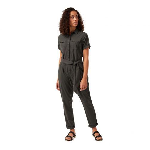 Craghoppers---UV-Jumpsuit-für-Damen---NosiLife-Rania---Dunkelgrün