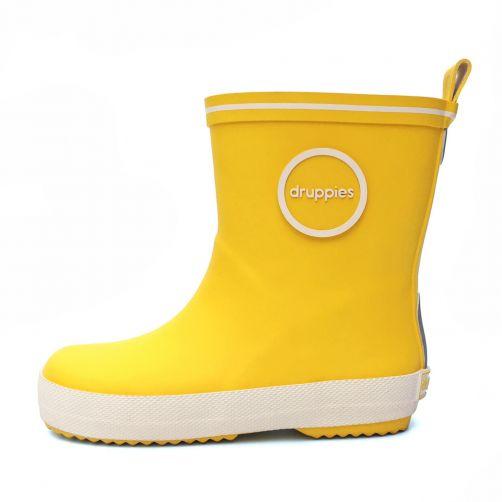 Druppies---Regenstiefel---Gelb