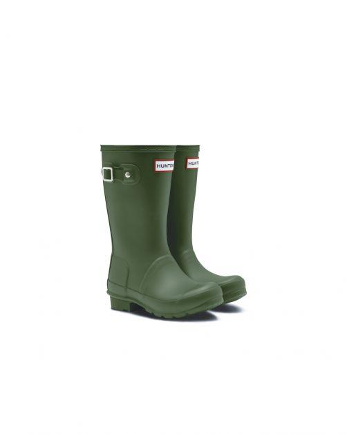 Hunter---Regenstiefel-für-Kinder---Original-Kids-Wellington---Hunter-Grün