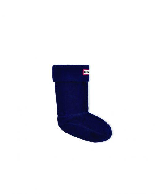 Hunter---Fleece-Stiefelsocken-für-Kinder---Original-Kids---Marineblau