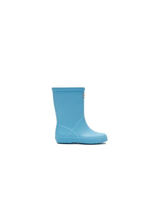Hunter---Regenstiefel-für-Kinder---Kids-First-Classic---Blau