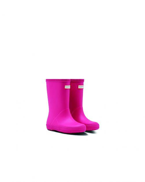 Hunter---Regenstiefel-für-Kinder---Kids-First-Classic---Pink
