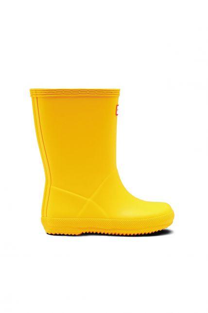 Hunter---Regenstiefel-für-Kinder---Kids-First-Classic---Gelb