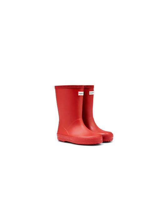 Hunter---Regenstiefel-für-Kinder---Kids-First-Classic---Rot