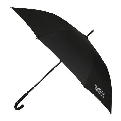Regatta---Großer-Regenschirm-mit-Öffnungsautomatik---Schwarz