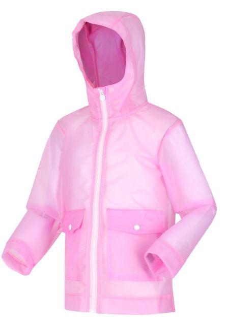 Regatta---Regenjacke-für-Mädchen---Hallow---Pastellrosa