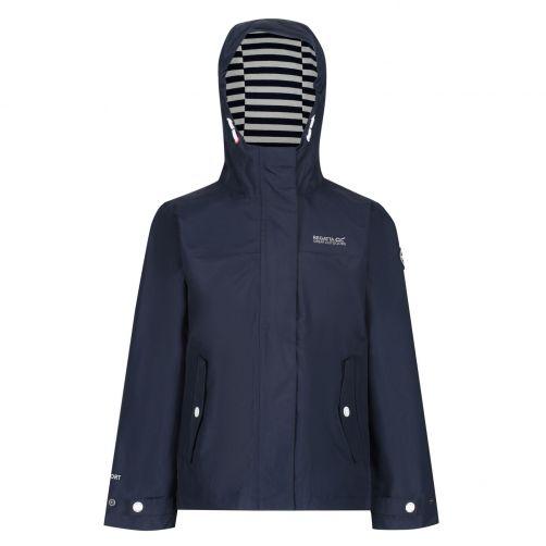Regatta---Regenjacke-für-Mädchen---Bibiana---Marineblau