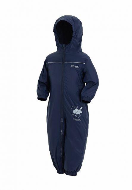 Regatta---Regenanzug-für-Kleinkinder---Puddle-IV---Marineblau