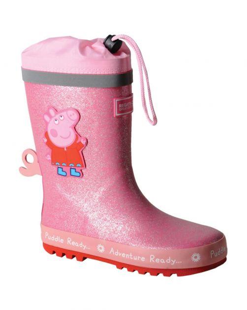Regatta---Regenstiefel-für-Kinder---Peppa-Pig-Puddle---Pink
