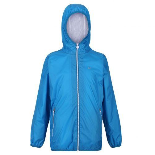 Regatta---Packaway-Regenjacke-für-Kinder---Lever-II---Aster-Blau