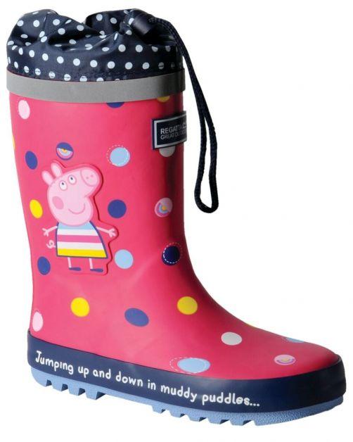 Regatta---Regenstiefel-für-Kinder---Peppa-Pig-Splash---Bright-Blush