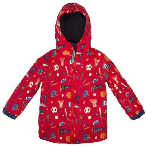 Stephen-Joseph---Regenjacke-für-Jungen---Sport---Rot
