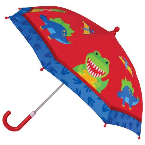 Stephen-Joseph---Regenschirm-für-Jungen---Dino---Rot/Blau