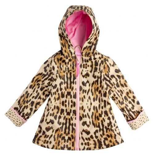Stephen-Joseph---Regenjacke-für-Mädchen---Leopard---Multi