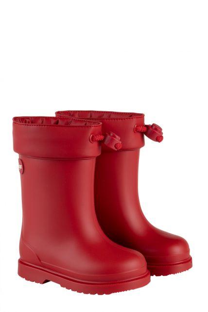 Igor---Regenstiefel-für-Kinder---Chufo-Cuello-Borreguillo---Rot