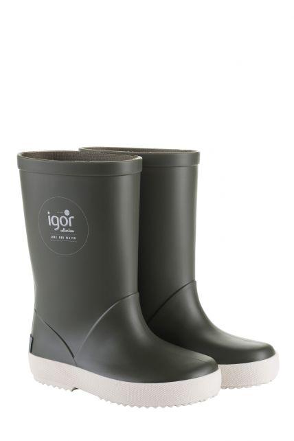 Igor---Regenstiefel-für-Kinder---Splash-Nautico---Kaki-grün