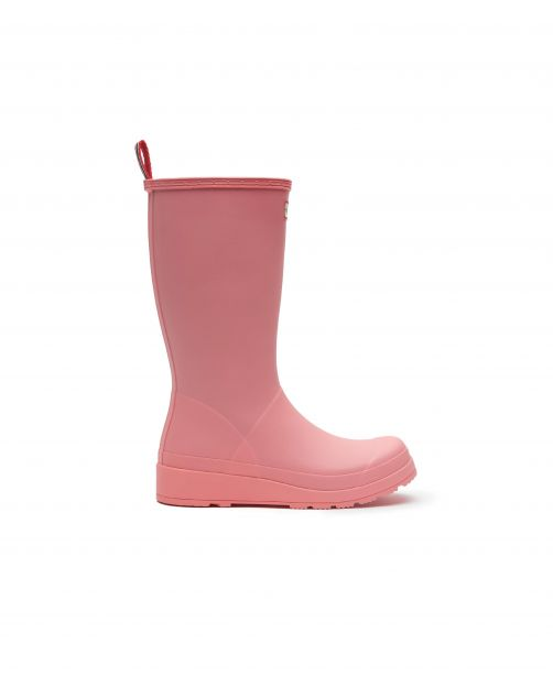 Hunter---Regenstiefel-für-Damen---Original-Play-Boots-Tall---Pink