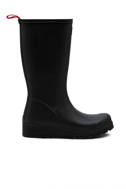 Hunter---Regenstiefel-für-Damen---Original-Play-Boots-Tall---Schwarz